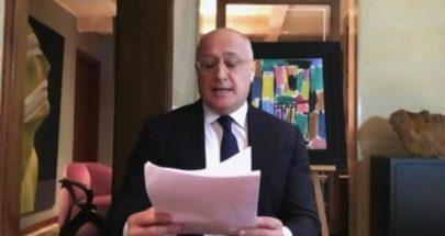 الإعلام اللبناني مكرّماً في دبي: خلف أحمد الحبتور يُكرّم مارسيل غانم image