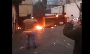 بالفيديو التوتر يعود إلى طرابلس... حجارة وحريق ومحاولة إقتحام سرايا طرابلس image