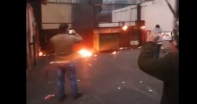 بالفيديو التوتر يعود إلى طرابلس... فوضى عارمة واقتحام سرايا طرابلس image