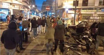 تظاهرة في طرابلس... رفضا لتمديد الاقفال العام image