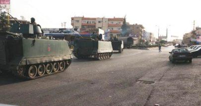 الجيش: تنفيذ عمليات دهم وتوقيف مطلوبين في حورتعلا-البقاع image