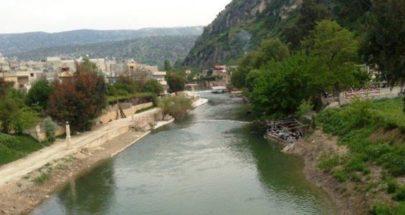 ارتفاع ملحوظ في منسوب نهر العاصي بسبب غزارة الامطار image