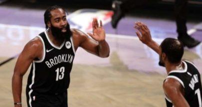 NBA: هاردن يقود بروكلين الى الفوز للمباراة الثانية على التوالي image
