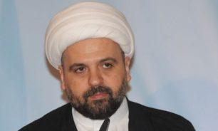 أحمد قبلان: لا بد من مصالحة عقلاء لإنقاذ التأليف الحكومي image