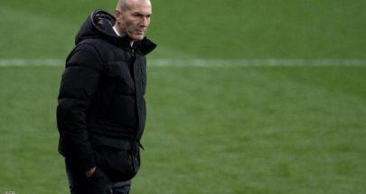 زيدان يبدي أسفه على الهزيمة.. والصورة السيئة لريال مدريد image