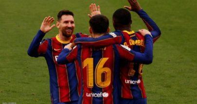 برشلونة يُسقط إشبيلية ويحافظ على آماله في اللقب image