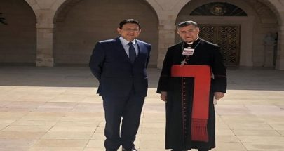 الخازن: نؤكد الوقوف إلى جانب بكركي الدرع الوطنيّ الأوّل لسيادة لبنان image