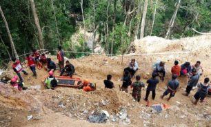 مقتل 6 عمال إثر انهيار منجم في اندونيسيا image