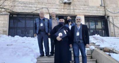 الجمعية الأرثوذكسية لرعاية المساجين اطلعت على اوضاع السجناء في البقاع image