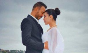 غدي يعلن حمل زوجته ملاك الاختيار بطفلهما الأول image