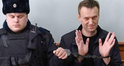 نقل نافالني من سجنه في موسكو إلى مكان مجهول image