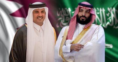 ولي العهد السعودي يتلقى اتصالاً هاتفياً من أمير قطر image