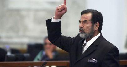 ناشطون رفعوا صورة لصدام حسين على تقاطع تعلبايا image