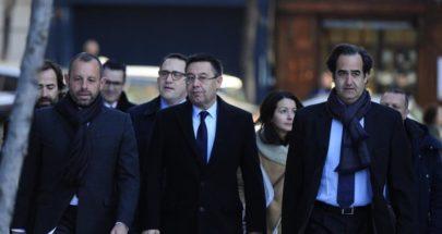بارتوميو يرفض الشهادة.. والمحكمة تطلق سراحه image
