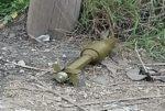 بالصورة... العثور على قذيفة صاروخية في خراج بلدة المحمرة image