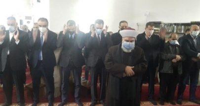 تشييع والدة مصطفى أديب في طرابلس image
