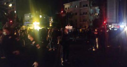 قطع طريق الاميركان والفوار في صيدا image