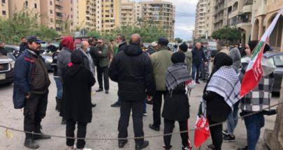 اعتصام أمام السرايا وقصر العدل في طرابلس image
