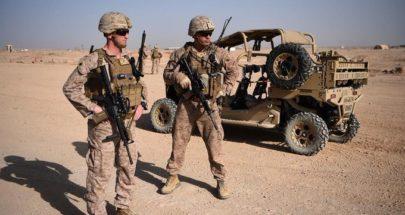 واشنطن: كل الخيارات مطروحة بالنسبة لقواتنا المتبقية بأفغانستان image