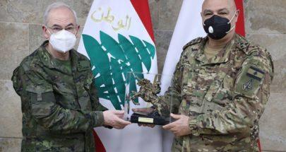 قائد الجيش التقى رئيس أركان الجيش الإسباني image