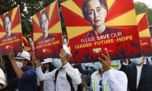 ميانمار: توجيه اتهامين جديدين إلى أونغ سان سو تشي image
