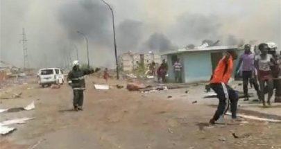 20 قتيلاً و600 جريح على الأقل جراء انفجارات بمعسكر في غينيا الاستوائية image