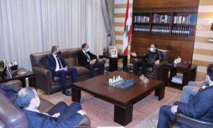 """وفد من """"ايدال"""" زار الحريري... وعرض لآخر المستجدات image"""