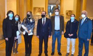 مرتضى: التعاون بين لبنان وإيطاليا تجلى في إرسال بعثة لتفقد المناطق المتضررة عقب انفجار المرفأ image