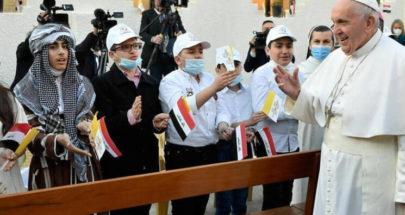 المحطة الأخيرة.. يوم طويل للبابا فرنسيس في كردستان العراق image