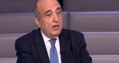 عبود: ليس من الصعب إخراج لبنان من الوضع الراهن image