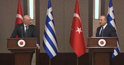 سجال على الهواء.. وزير خارجية تركيا لليونان: نرفض اتهامكم image