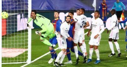 ريال مدريد يسقط برشلونة ويتصدر image