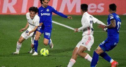 """خيتافي يعطل مسيرة ريال مدريد """"المنهك"""".. واللقب يبتعد image"""