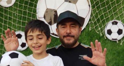 عابد فهد يخطف ابنه تيم من والدته! image