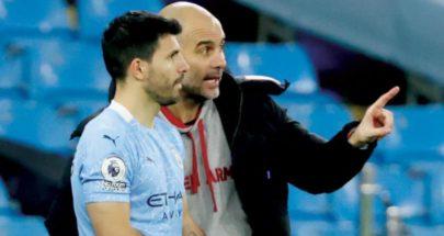 غوارديولا يمنح أغويرو حرية الانتقال لأي منافس في الدوري الإنجليزي image