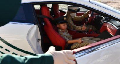 شرطة دبي تحقق أمنية طفل باصطحابه في جولة بدورياتها الفارهة image