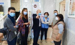 مسؤولة في الامم المتحدة ومديرة مكتب أوتشا تزوران مركز عامل الخيام image