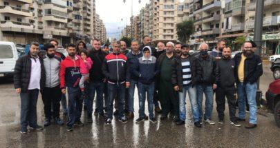 اعتصام لموزعي الخبز في طرابلس image