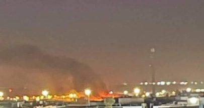 قصف استهدف مطار أربيل الدولي بكردستان العراق image