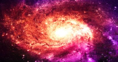 """ناسا تنشر صورة لثقب أسود بـ""""اللون الوردي""""! image"""