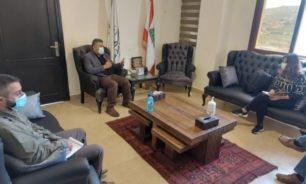 لقاء بين اتحاد بلديات جبل عامل واللجنة الدولية للصليب الأحمر image
