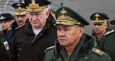 شويغو يأمر الجيش الروسي بالاستعداد للرد على أي تطورات سلبية image