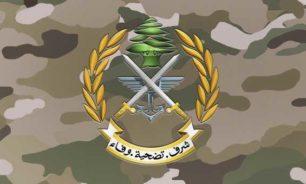 الجيش يوقف سوريا في حربتا يقود آلية فيها معدات لتصنيع المخدرات image