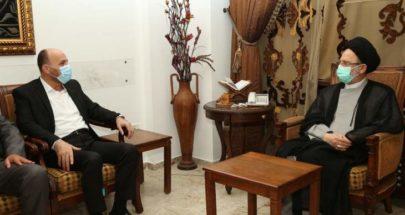 فضل الله: وحدة الشعب الفلسطيني هي الأساس لمنع تهميش قضية فلسطين image