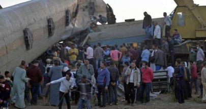الكشف عن سبب خروج عربة قطار عن مسارها شمالي مصر image