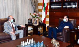 الحريري التقى سفيري النروج واسبانيا فيري image