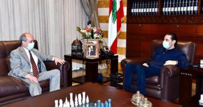الحريري التقى سفيري النروج واسبانيا image