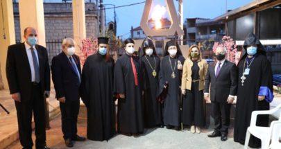 تشييد نصب تذكاري لشهداء الابادة الارمنية في زحلة image