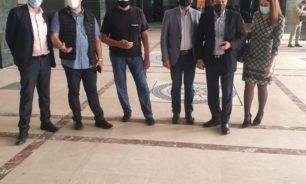 """وقفة تضامنية لمحامو """"تيار المستقبل"""" مع القضاء اللبناني image"""