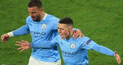"""مانشستر سيتي يحل """"عقدة"""" أبطال أوروبا.. ويتأهل لقبل النهائي image"""